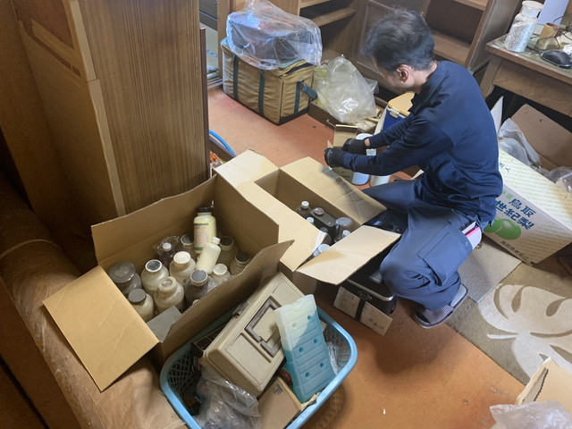 医療用廃棄物の選別