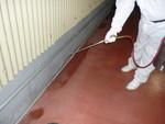 サフロチンMC散布によるゴキブリ対策