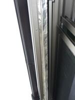 コウモリ対策窓シャッターの閉塞
