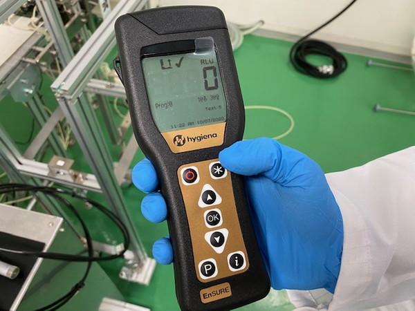 医薬品工場の菌検査重要区域2