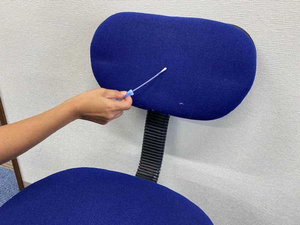 s03_01事務所椅子の菌検査1