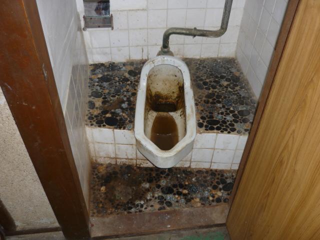 孤独死後のトイレ清掃2