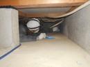床下ゴキブリ死骸清掃