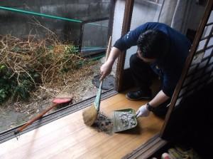 掃き掃除2016.4