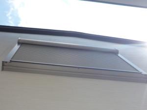 窓シャッター隙間埋め完了