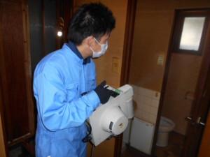 神戸市、孤独死後の殺菌消臭でリセット