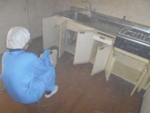 収納スペース超微粒子殺菌消臭