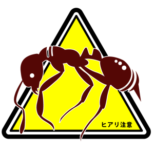 ヒアリ侵入注意単体