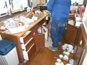 キッチン整理前