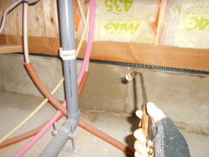 ゴキブリ対策床下のMC処理3