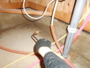 ゴキブリ対策床下のMC処理4