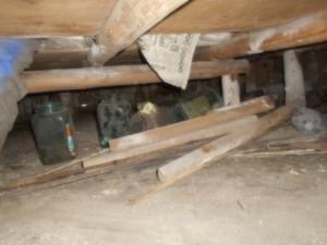 床下廃材処分2