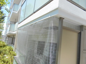 名古屋市M区防虫ネット施工7